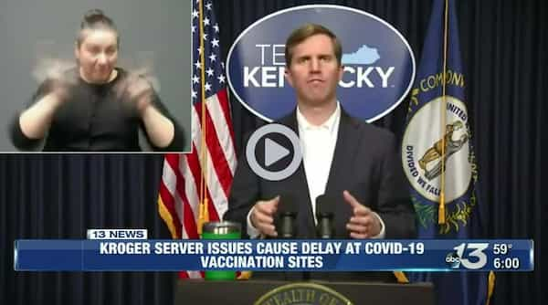 Kroger server issues cause delay at COVID-19 vaccination sites